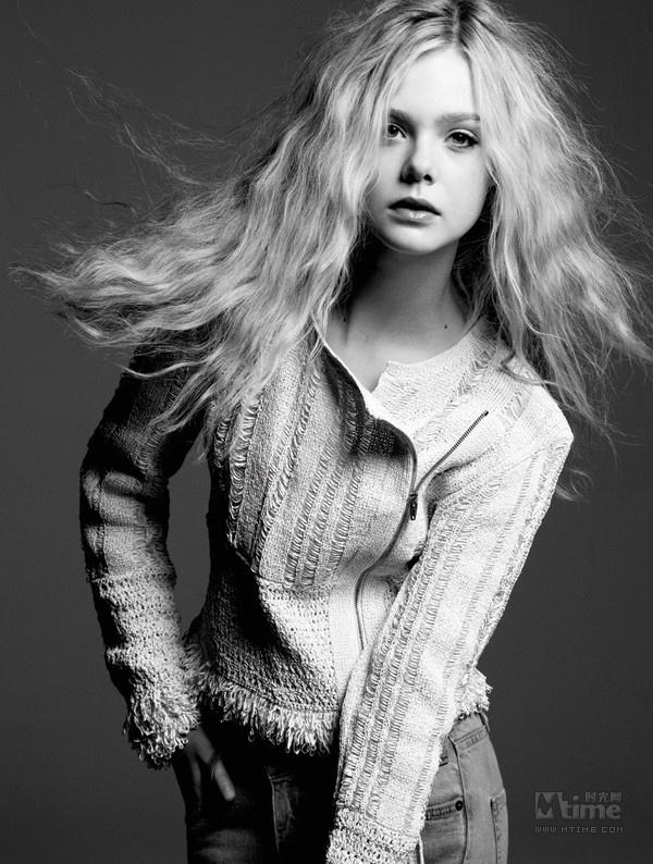 13岁的早熟少女 《超级8》艾丽范宁写真 Mti