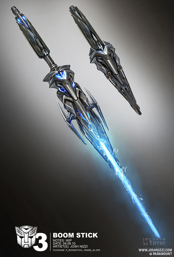 科幻武器刀图片手绘