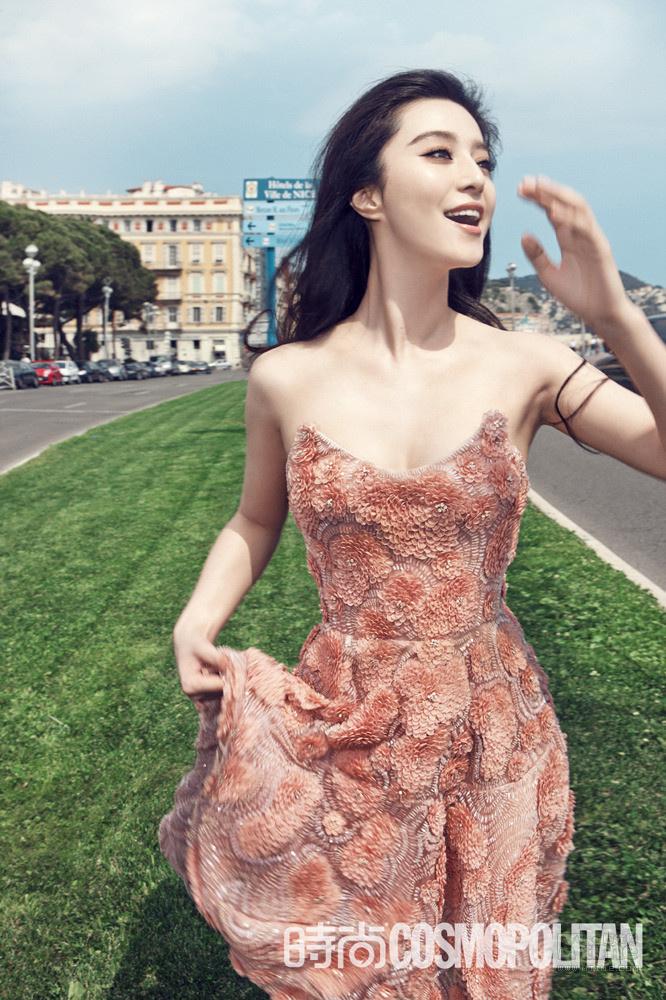 范冰冰法国风情写真 重新做回清纯芳龄美少女