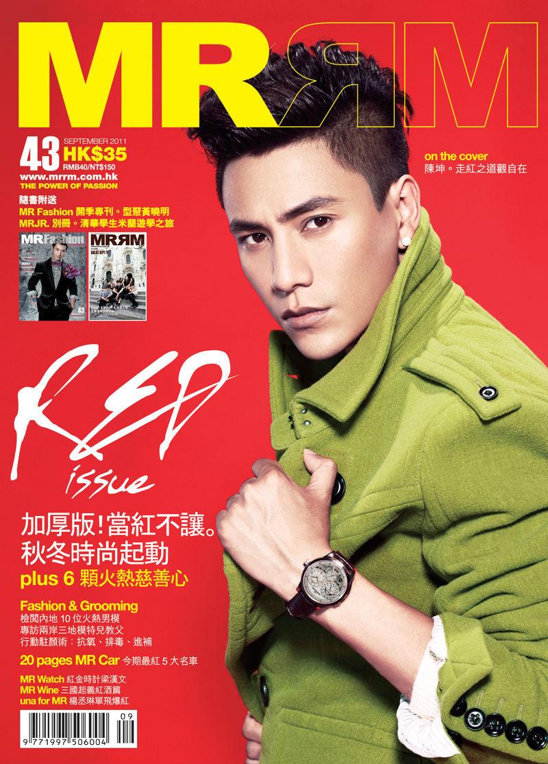 《mr》香港杂志封面   时光网讯 仔细看这个眉目清秀又带着拓天英气
