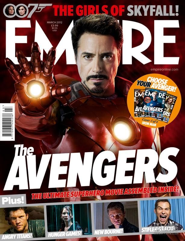 上了《帝国》杂志的封面