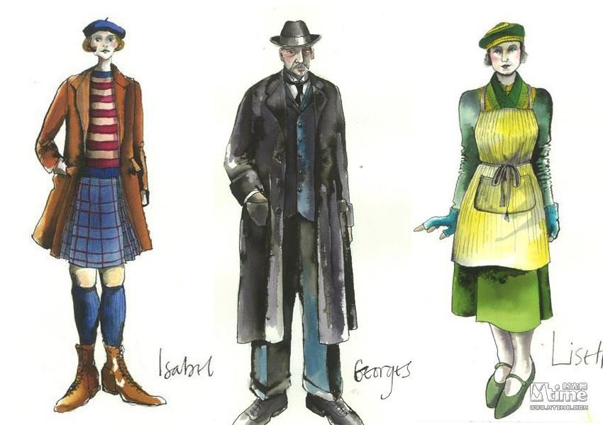 复古风服装_三十年代复古风 赏析《雨果》精美服装设计 - Mtime时光网