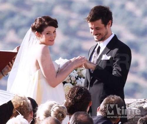 杰玛阿特登与老公现身美国美丽电影笑靥如花伦敦人的新娘图片