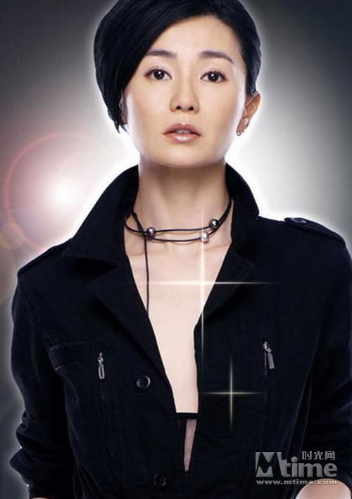 张曼玉不怕性感维纳斯女神称现在最美化身老皮裙穿的性感美女图片