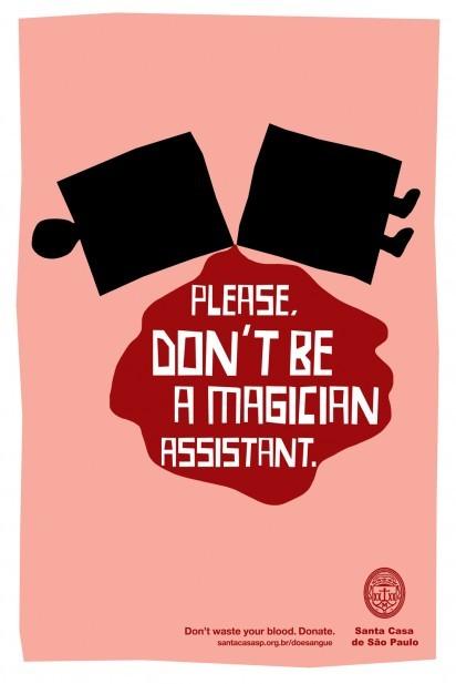 [趣图]献血公益广告:不要浪费你的一滴血图片
