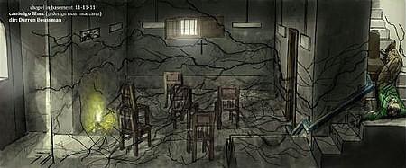 影片最新曝光几张概念设计图,充满了诡异和神秘的气氛.
