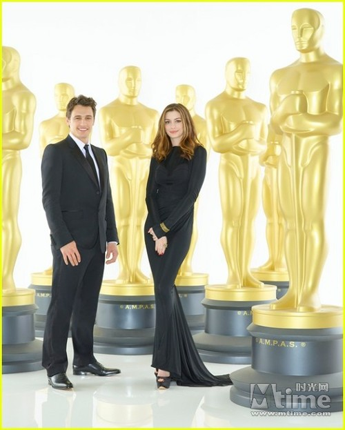 Anne Hathaway James Franco: 奥斯卡俩主持有化学反应 弗兰科海瑟薇很紧张– Mtime时光网