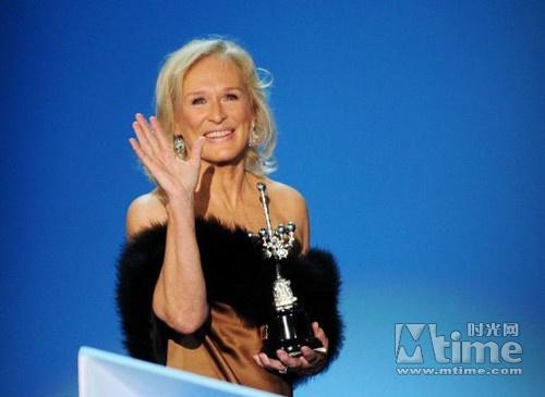 电影节上获奖的格伦·克洛斯-格伦 克洛斯获圣塞巴斯蒂安电影节终