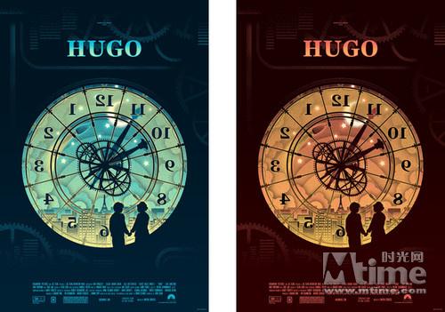 ...艺术海报.日前他们在twitter上先推出   《雨果》   的两款艺...