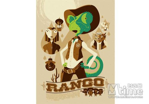 《兰戈》艺术海报