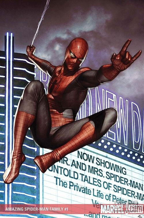 蜘蛛侠给他设计的一套钢铁战衣.暗影蜘蛛侠(spider-man noir)