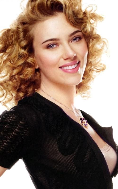 天使的脸庞——Scarlett Johansson优雅写真 像明星那样穿衣服 电影