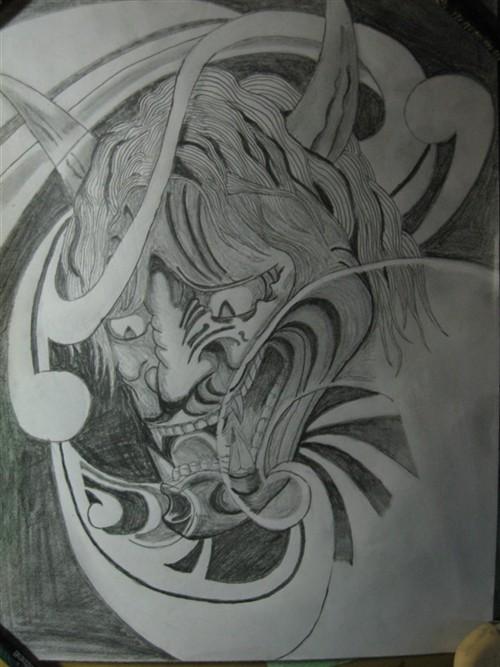 几幅自己画的纹身手稿【不断更新】 我爱弹吉他 电影