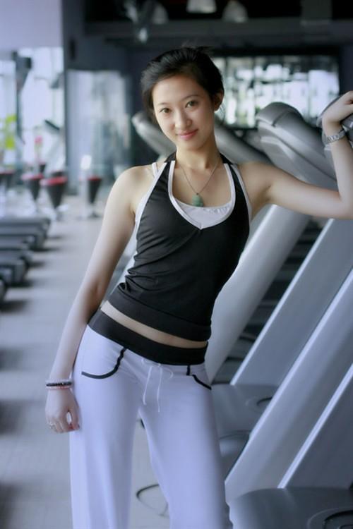 广州健身房_健身房气质女 自己的电影 电影