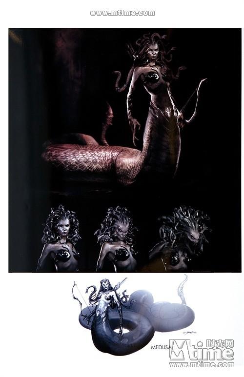 《诸神之战》中的蛇妖美人
