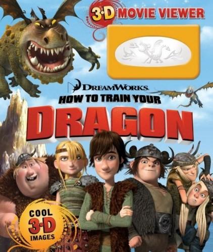 《驯龙记》儿童书封面
