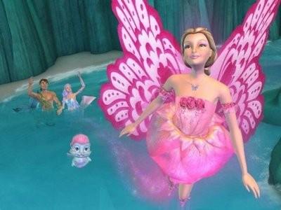 芭比美人鱼公主 芭比之美人鱼历险记 白雪公主的故事