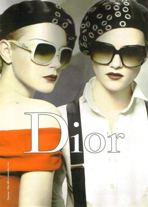 dior的那些漂亮海报广告