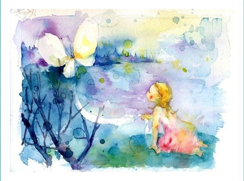 迷恋手绘~ 水彩童话