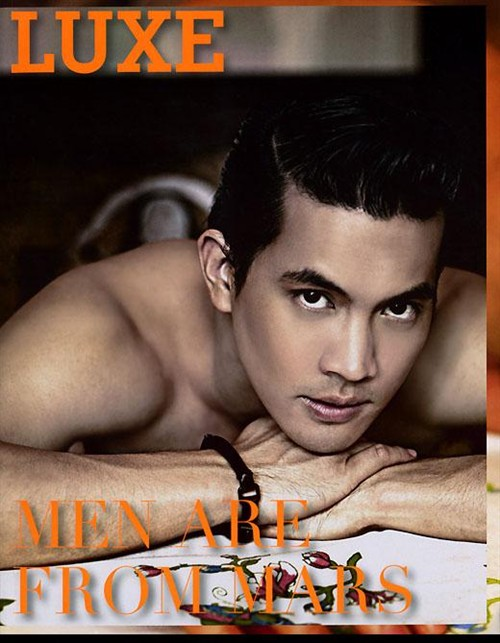 Picture About Asian Male Model and Actor Theeradej Wongpuapan from Thailand