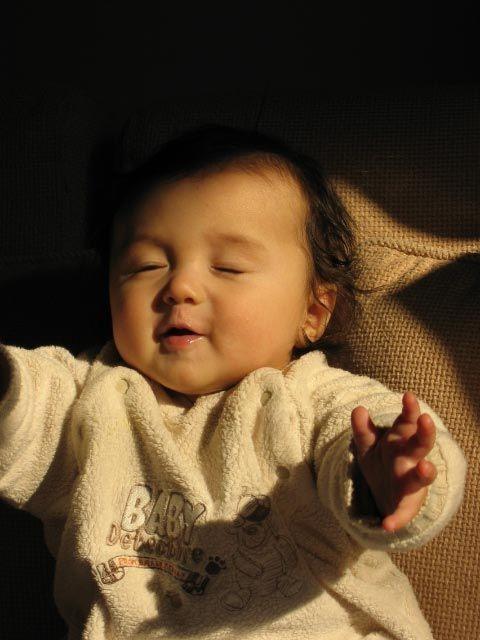 超可爱的混血宝宝 没办法不爱啊