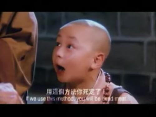 释小龙小时候好可爱