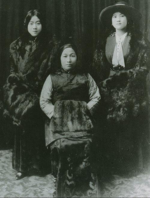 影响中国历史进程的宋氏三姐妹图片