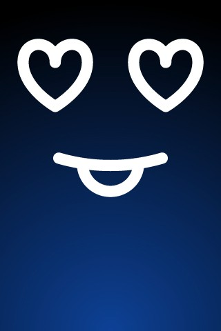 iphone壁纸,表情,简约,笑脸