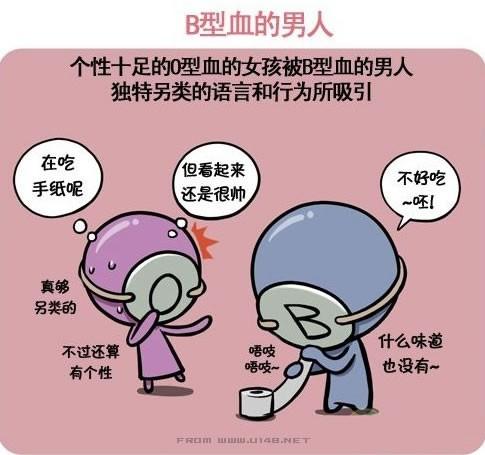 血型可爱漫画系列~~~献给o型血的兄弟姐妹【25p】
