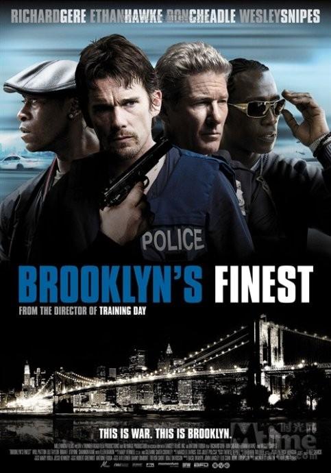 布鲁克林警察 高清MKV版下载 /恶夜特警队 / 2009 Brooklyns Finest 11.18G