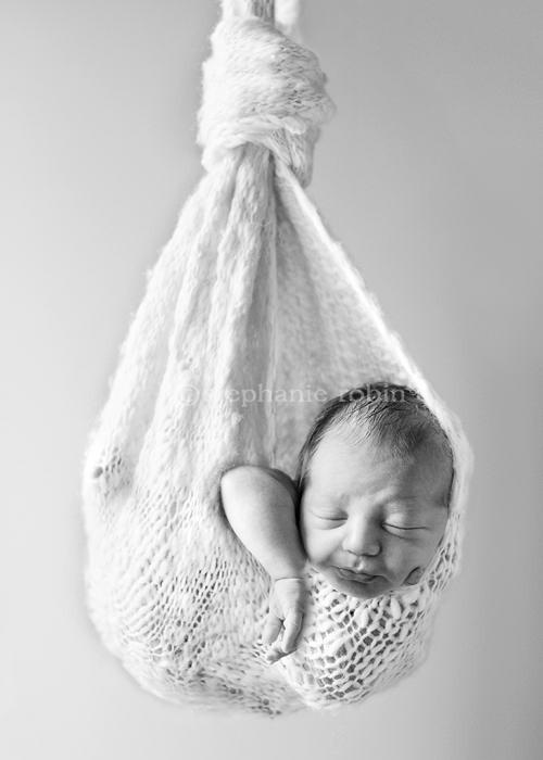 可爱宝宝面部素描