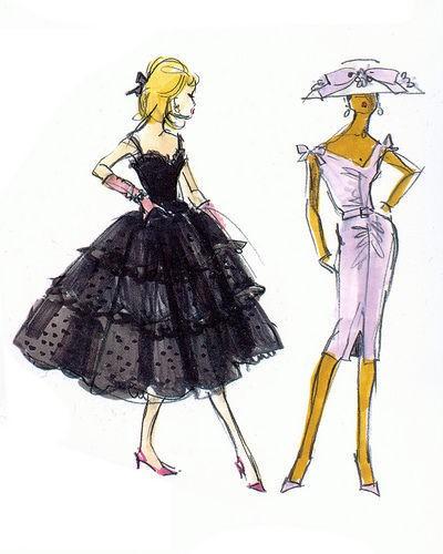 芭比娃娃时尚插画集 Barbie 永恒的公主梦
