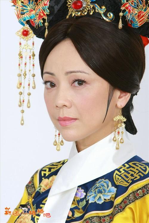 邓萃雯扮演 新还珠格格 里的皇后