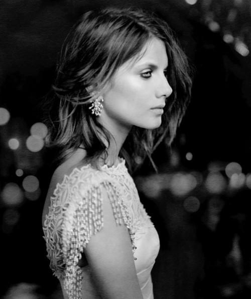 令人屏息的法国美女 梅拉尼·罗兰 像明星那
