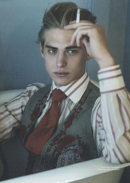 贵族色昝_迷醉法国美男色,完美贵族少年郎:型男超模jeremy dufour