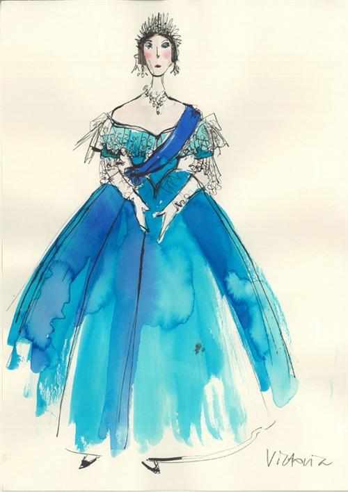 谁说服装设计师都是图画高手