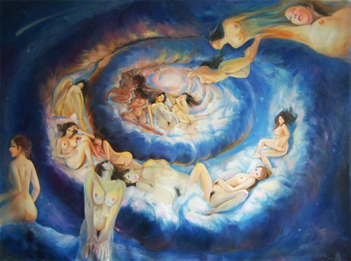 精神特征与艺术特性[画家与她的情色]--艺洋作品 - 石墨閣画廊 - 石墨閣画廊--雨濃的博客