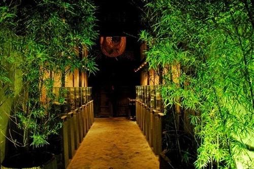 竹子装修餐厅效果图