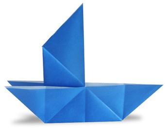 中班折纸瓢虫步骤图