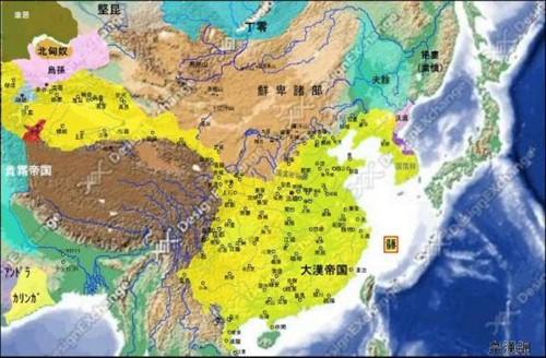 中国历史地图(ii)