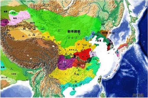 【图片】日本教科书上的中国历史地图(II)