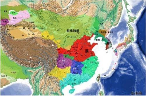 历史地图(ii)  声明:以下图片转载自皇汉网   第二部分  东汉,三国