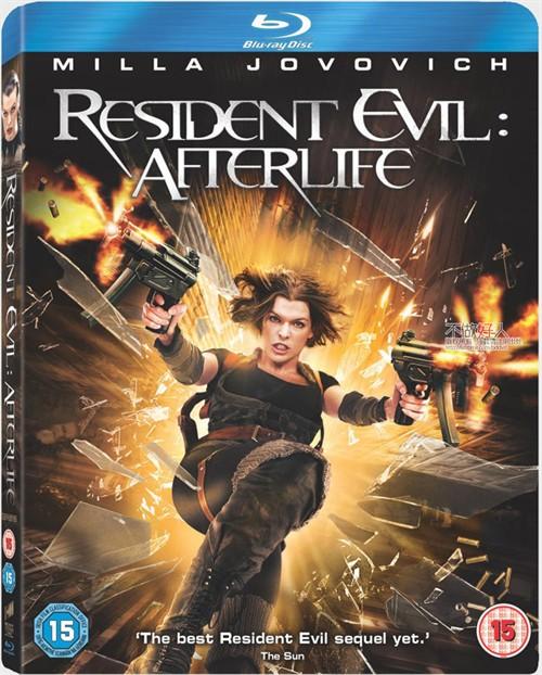 英国 生化危机 战神再生 Resident Evil Afterlife DVD BD 3D发行消息