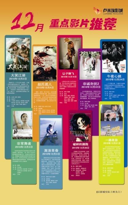 十二月电影上映表