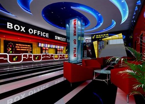民国电影院元素设计