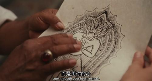 纹身小图案瑜伽分享展示