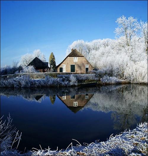美丽的冬景图片