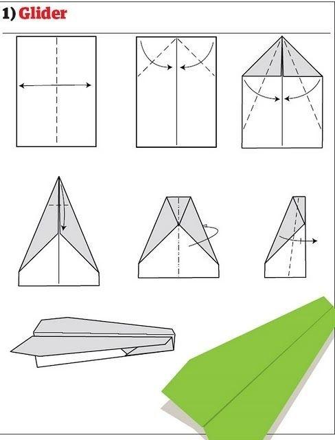 如何折一个牛逼的纸飞机?