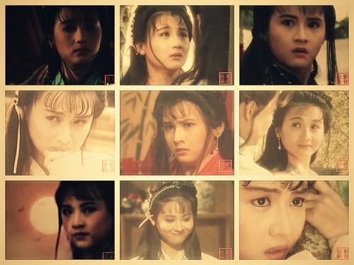 【原创】我喜欢的女人  还珠---小时候很喜欢新加坡电视剧,鹤啸九天是