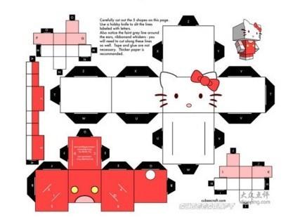 龙猫折纸; 叮当猫扮阿童木源文件